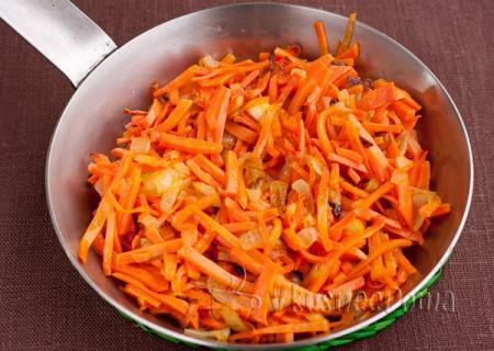 лук пассеруем с морковкой