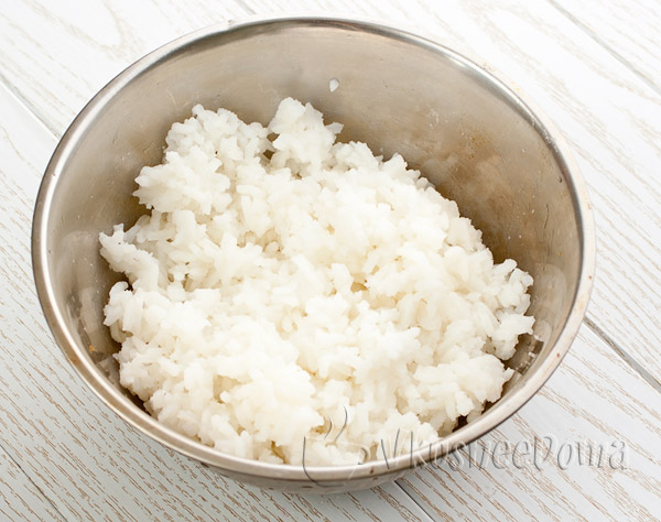рис варим до полуготовности