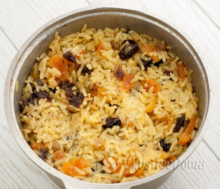соединяем с рисом