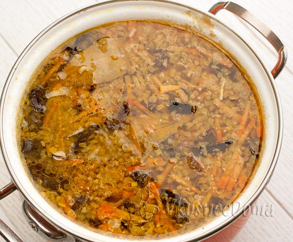 закладываем суп