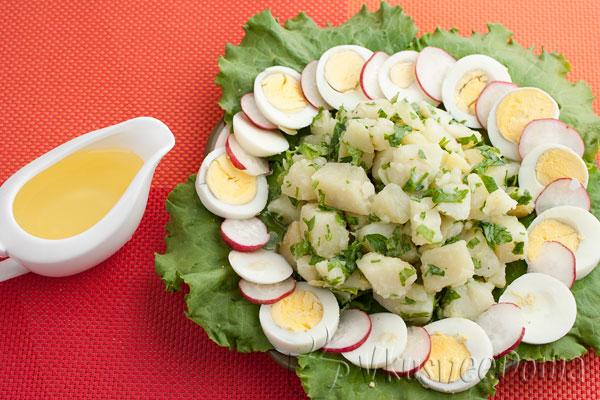 картофельный салат болгарский