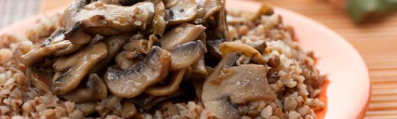 Каша гречневая с грибами рецепт с фото