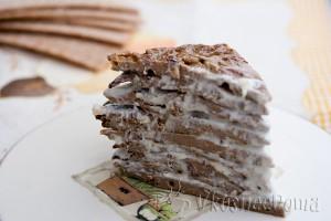 готовый печеночный торт