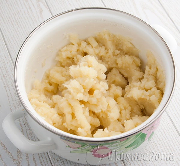 из картошки делаем пюре