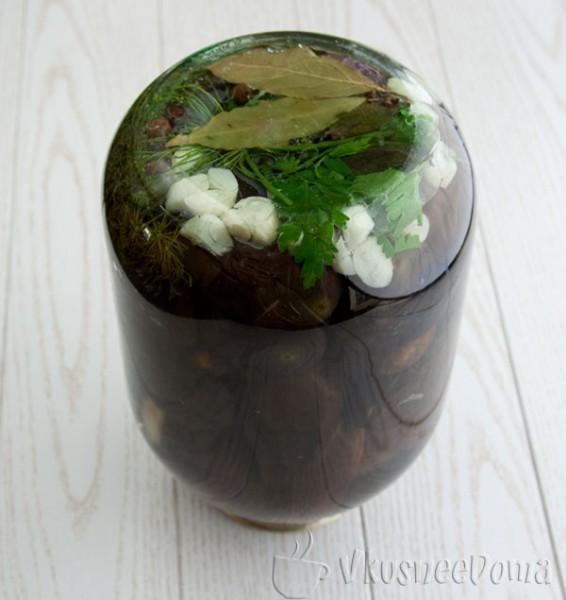 Консервируем баклажаны на зиму в маринаде