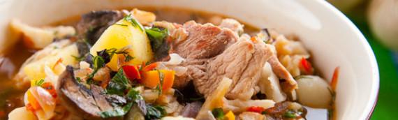 Немецкий суп Айнтопф рецепт с фото
