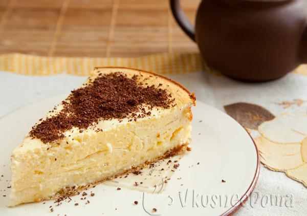 Творожный пирог рецепт с фото в духовке с пудингом