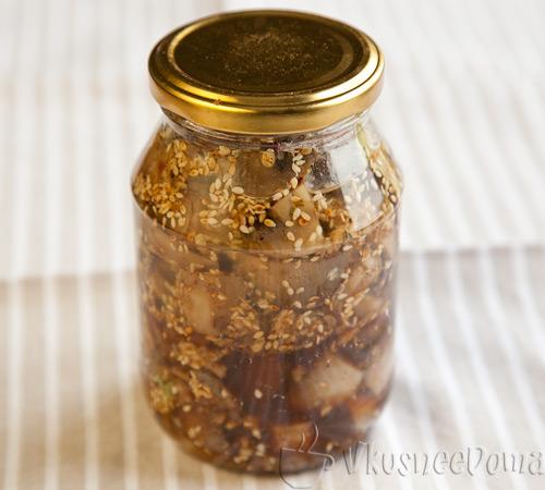 Маринованные грибы по корейски