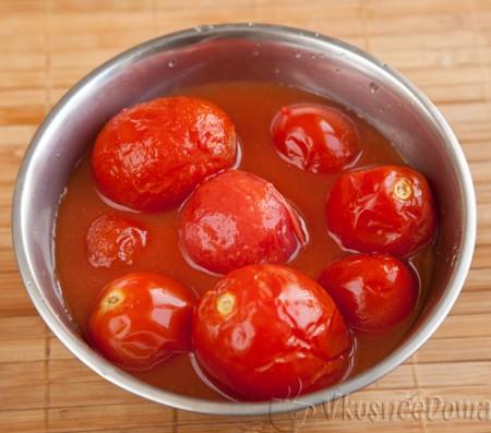 помидоры консервированные