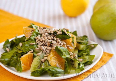 фруктовый салат рецепт оригинальный