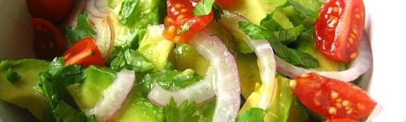 Авокадо рецепты салатов с креветками, семгой, помидорами