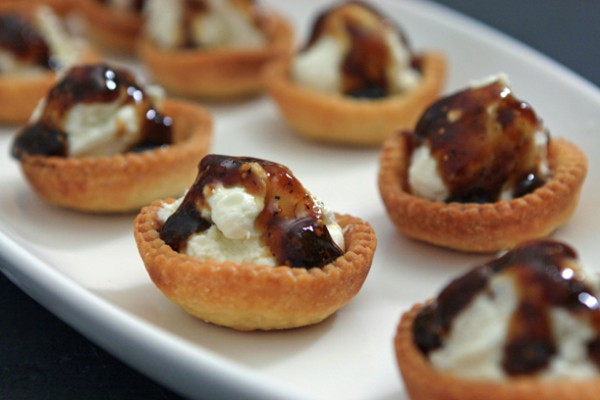 Goat-Cheese-Tartlets