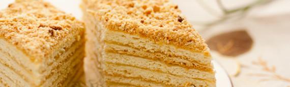 Торт Наполеон рецепт с фото (классический и слоеный)