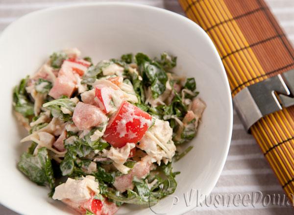 Итальянский салат из руколы рецепты с фото