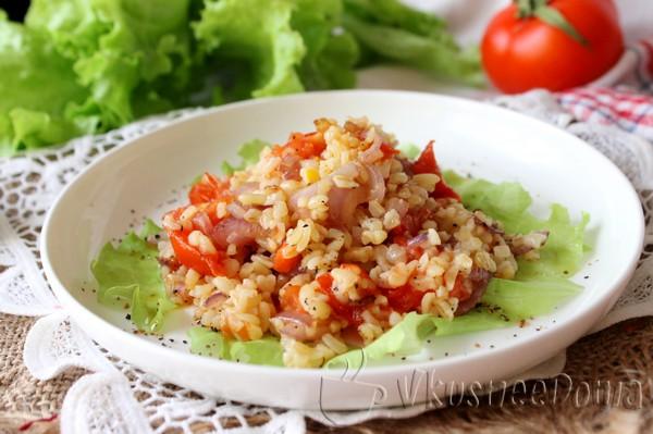 Цветные овощи и булгур рецепты с фото