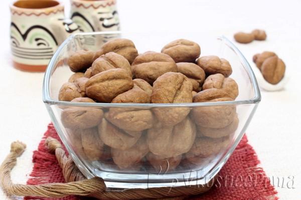 """Печенье рассыпчатое """"Кофейные зерна"""""""