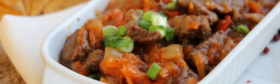 Поджарка из говядины рецепт с фото
