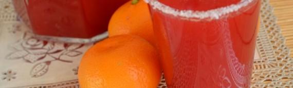 Морс клюквенный рецепт с мандаринами