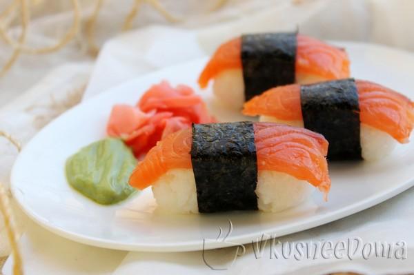 Нигири - суши рецепт в домашних условиях
