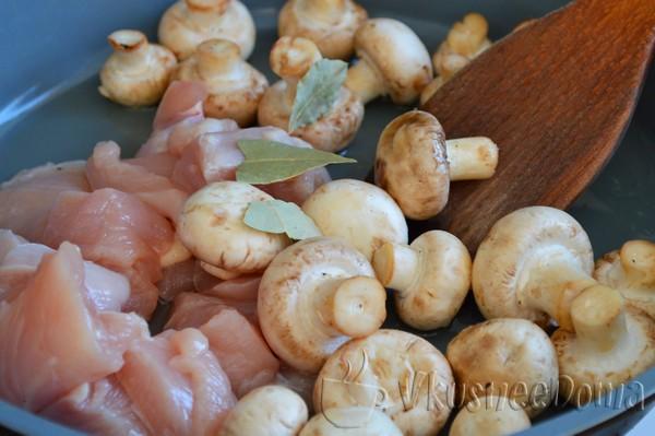 грибы моем
