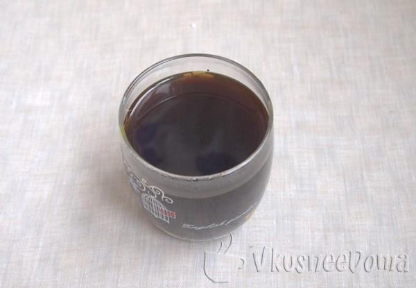 молочный десерт с кофе