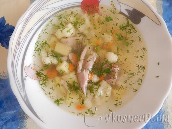 куриный суп в мультиварке - прозрачный и нежный