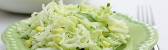 Салат из свежей капусты рецепт – 13 лучших