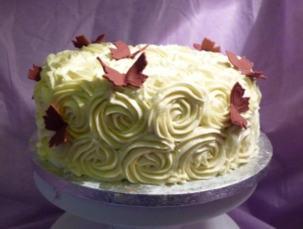 Как украсить торт своими руками в домашних условиях