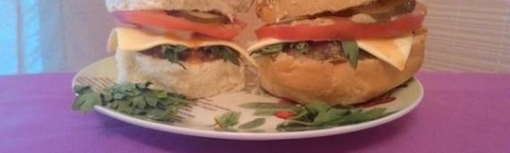 Как сделать гамбургер в домашних условиях рецепт с фото