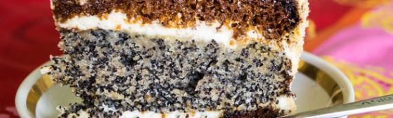 Маковый львовский пляцок или нежный пирог с маком