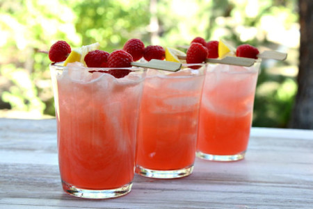 Raspberry-Rum-Lemonade