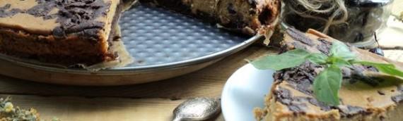 Чизкейк творожный рецепт с карамелью и смородиной