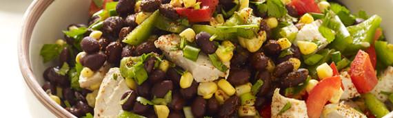 Салаты с фасолью рецепты с фото простые и вкусные