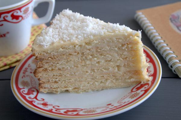 Наполеоновский творожный пирог рецепт с фото в духовке