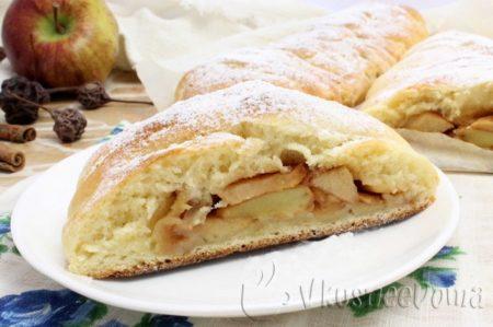 13 лучших рецептов яблочного пирога в духовке с фото