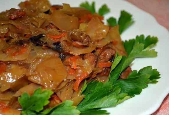 Бигос классический с мясом