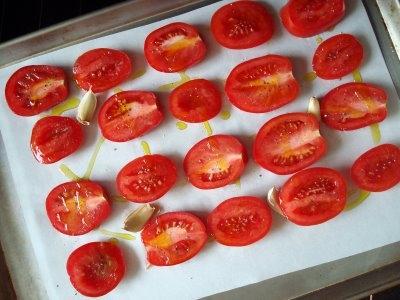 Приготовление вяленых помидоров