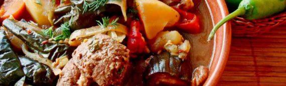 Баранина, тушёная с овощами: пошаговые рецепты с фото