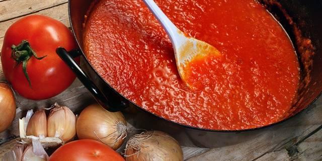 Томатный соус для аварского хинкала