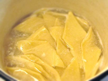 Приготовление бешбармака