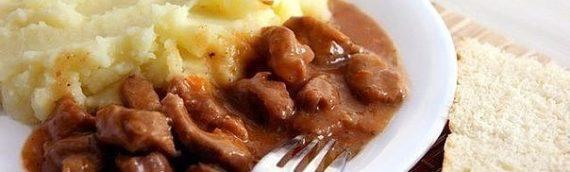 Говядина, тушёная с подливкой: история блюда, как готовить