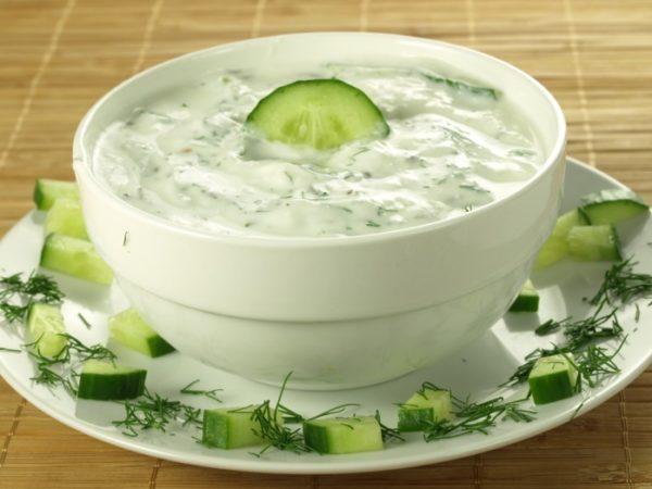 Йогуртовый соус для гироса