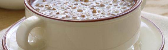 Рецепт гречневой каши на молоке с добавлением клубники, тыквы или банана