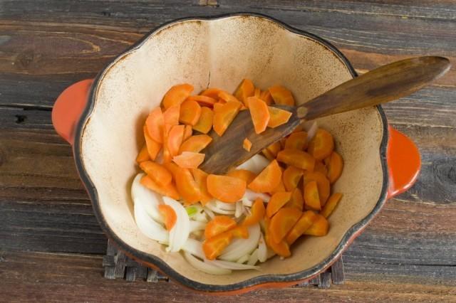 морковь к цибуле
