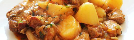 Вкусные и простые рецепты приготовления жаркого по-домашнему со свининой и картошкой