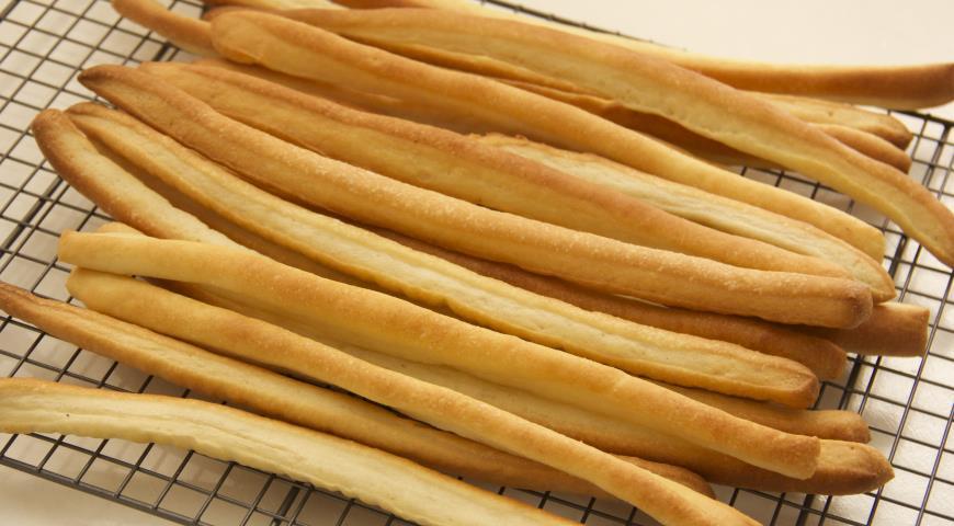 Хлебные палочки гриссини