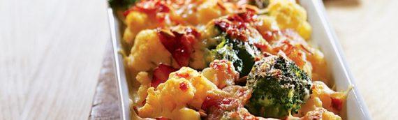 Гратен из цветной капусты – вкусно, полезно и быстро