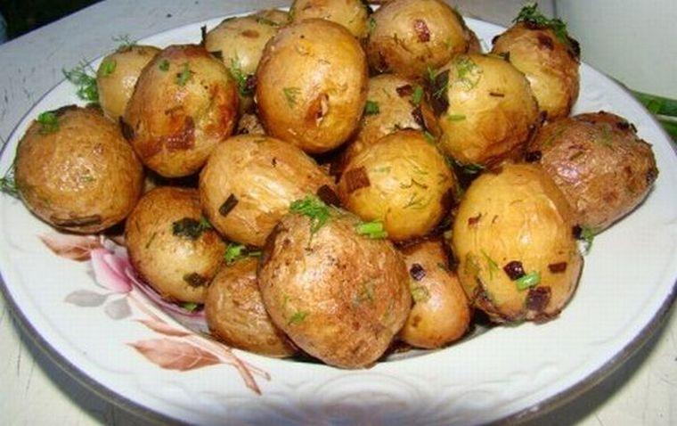 Запеченная картошка
