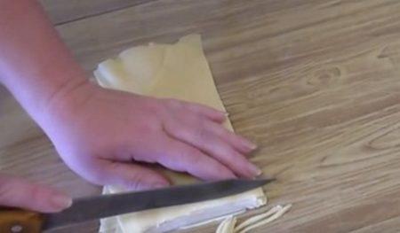 Нарезание лапши