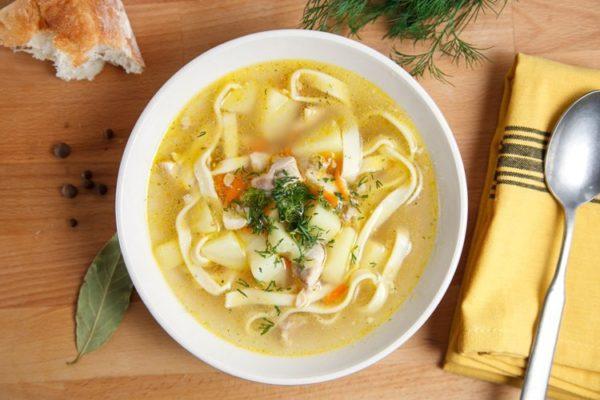 Суп без поджарки
